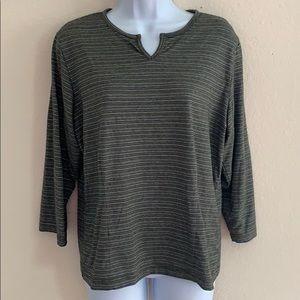 EUC REI 3/4 long sleeve shirt